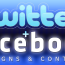 Facebook & Twitter Designs & Contests