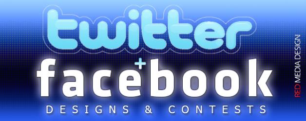 Facebook & Twitter Designs & Contests